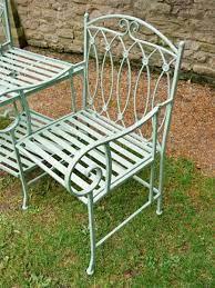 garden furniture metal garden benches