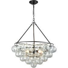 full size of lighting glamorous round glass ball chandelier 6 trendy 10 cuvee oil rubbed bronze