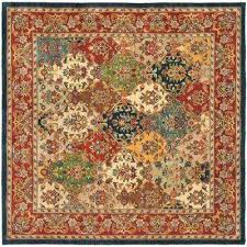 heritage multi burdy 10 ft x 10 ft square area rug