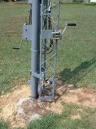 tilt then crank up tower antenna index of mastil