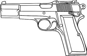 Small Picture Gun coloring pages printable ColoringStar