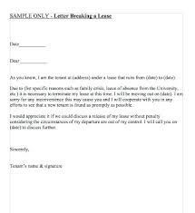 Lease Termination Letters Rental Lease Termination Letter Eviction Notice Templates Lease