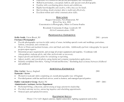 Corymarrresume Impressive Commercial Photographer Resume Template ...