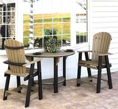wood patio bar set. Round Wood Pub Table Poly Patio Bar Set And Chairs Pics