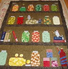 123 best Canning/Bug Jar Quilts images on Pinterest | Paper ... & crazy jar quilt - QUILTING - Hello all~I broke away from my usual applique  quilts and created a nutty and fun jar quilt. Adamdwight.com