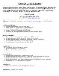 Objective For Retail Resume Resume Objective for A Part Time Job Fresh Sample Resume 91