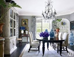 traditional dining room in los angeles california