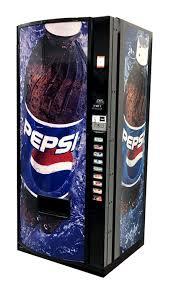 Pepsi Glass Front Vending Machine Classy Dixie Narco Model 48E Pepsi Globe Vending World