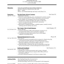 Resume Template Samples Word Image Collections Certificate