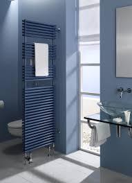 Bad Wände Blau Rauchblau Bodenfliesen Grau Waschtisch Glas