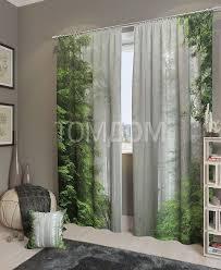 <b>Комплект</b> фотоштор «Магический лес» | <b>Шторы</b>, Дом, Домашний ...