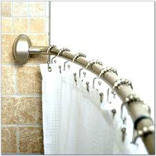 dual shower curtain rod double tension rods curtains brackets