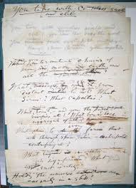 "scholarly editing the annual of the association for documentary   click on image to enlarge figure 8 recto image manuscript draft of ""you tides ceaseless swell "" courtesy of walt whitman house camden nj"