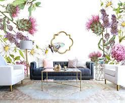 Plum butterfly wallpaper