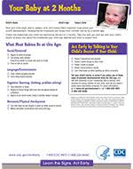 Important Milestones Your Baby By Two Months Cdc