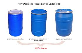 10 gallon plastic drum. Simple Drum Then We Also Have The New 55gallon Open Top Plastic Drums For 9995 Each On 10 Gallon Plastic Drum