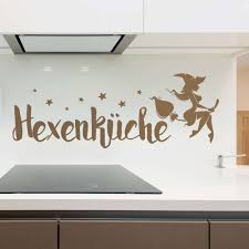 Wandtattoo Hexenküche M Sternen Lustige Deko Idee Für Die Küche