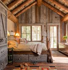 old rustic bedroom with natural light