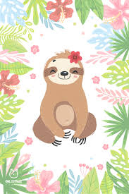 Get crafting with your cricut or any other cutting machines for crafty projects. Cute Sloth Clipart Collection Cute Cartoon Sloth In 2020 Sloth Art Cute Drawings Sloth