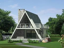 Grantview A-Frame Home. HOUSE PLAN ...