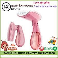 Bàn Ủi - Bàn Là Hơi Nước Cầm Tay Cao Cấp Sokany SK-3060, Nhỏ Gọn, Tiện  Dụng, Bảo Hành 12 Tháng tại Hà Nội