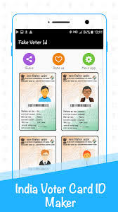 Android Voter Id Download apk Maker For Free Prank Card Fake App vAqfUwA