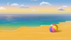 Beach ball in ocean Water Beach Ball Ball Gold Sand Ocean Sumer Beach Clouds Desktop Nexus Nature Beach Ball Beaches Nature Background Wallpapers On Desktop Nexus