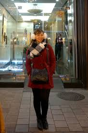 black hi waist pants jag black and white scarf uniqlo ears terrananova black ankle boots with heels h m wore it during city tours