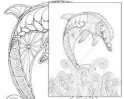 Dolphin Tale Coloring Pages Winter The D Printable Alphabet Pag