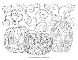 Halloween is a festival of irish origin: Free Halloween Coloring Pages For Adults Kids Happiness Is Homemade