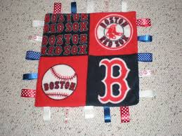boston red sox baby blanket