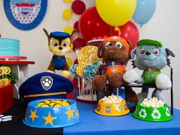 Resultado de imagem para decoração festa infantil patrulha canina