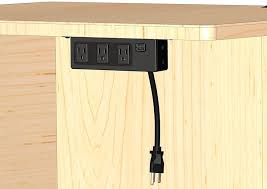 amazon electriduct under the desk table power center 3 outlets