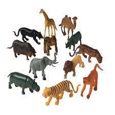 <b>Block</b> Play <b>Animal</b> Collection - <b>Wild Animals</b>