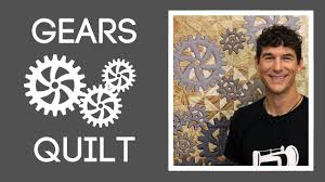 The Gears Quilt: Easy Quilting Tutorial with Rob Appell of Man ... & The Gears Quilt: Easy Quilting Tutorial with Rob Appell of Man Sewing Adamdwight.com