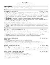 Resume Examples Internship Cover Letter Sample Computer Science Example Nyc  Sales