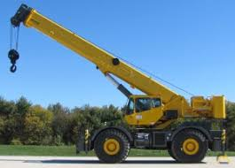 Grove Rt760 Load Chart Grove Rt760e 60 Ton Rough Terrain Crane For Sale