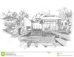 Exellent Architecture Design Sketches Interior Sketch Decoration In Decor