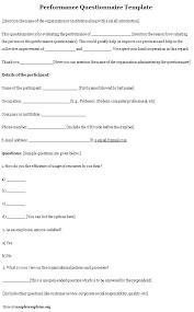 Employee Satisfaction Survey Template Word Inspirational Employee