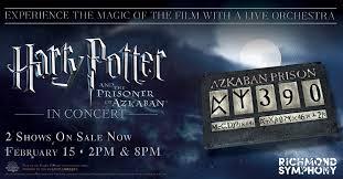 <b>Harry Potter</b> and the Prisoner of Azkaban™ in Concert - Richmond ...