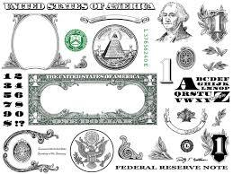 Vignette Design One Dollar Bill Design Images Photoshop Transparent File Png Graphics Vignette
