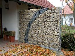 Small Picture Gabion Walls Design Gabion Retaining Walls Stone Wall Ideas Cool
