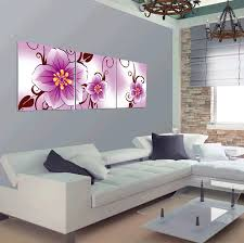 3 pcs no frame large flowers wall art picture modern home decor living room or bedroom canvas print painting on large wall art picture frames with 3 pcs no frame large flowers wall art picture modern home decor