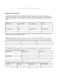 Resume Form Template Blank Professional Resume Templates Template ...