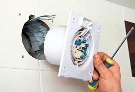 Вытяжной вентилятор для <b>вытяжки</b> в <b>ванной</b>: установка и ...
