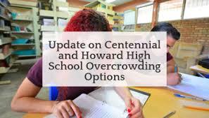 Hcpss Update On Centennial And Howard High School