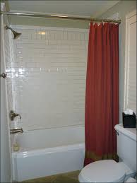 rod semi open shower curtain smlf ceiling
