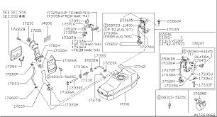 1989 nissan hardbody oem parts nissan usa estore fuel tank 172 tank hose filler tube
