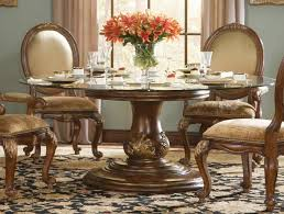 round glass top dining table and chairs room designs with set ideas 16