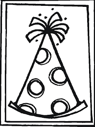 Small Picture Happy Birthday Party Hat Coloring Pages Coloring school stuff